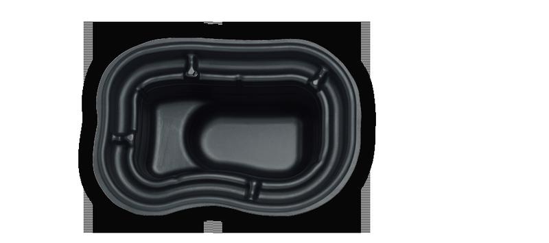 PVC ribnik 250L